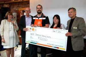 Home Depot supports Youth Housing