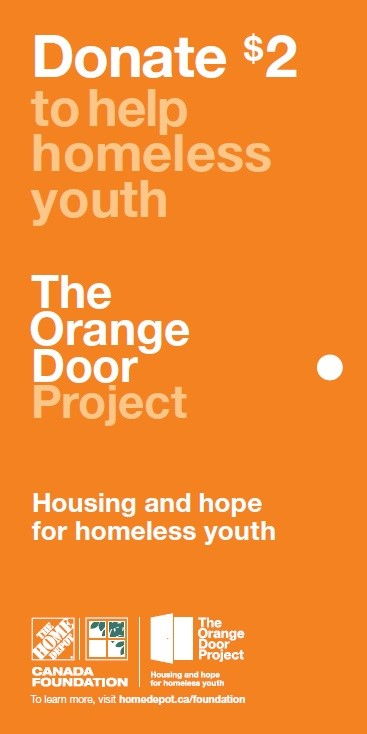 Home Depot - Orange Door - Victoria Youth Homeless