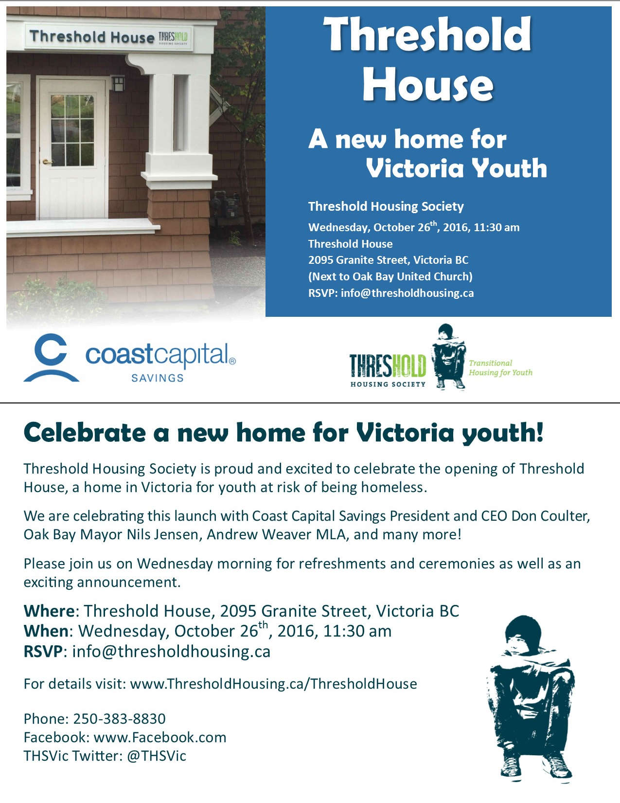 Threshold House Oak Bay - Victoria Youth Homelessness