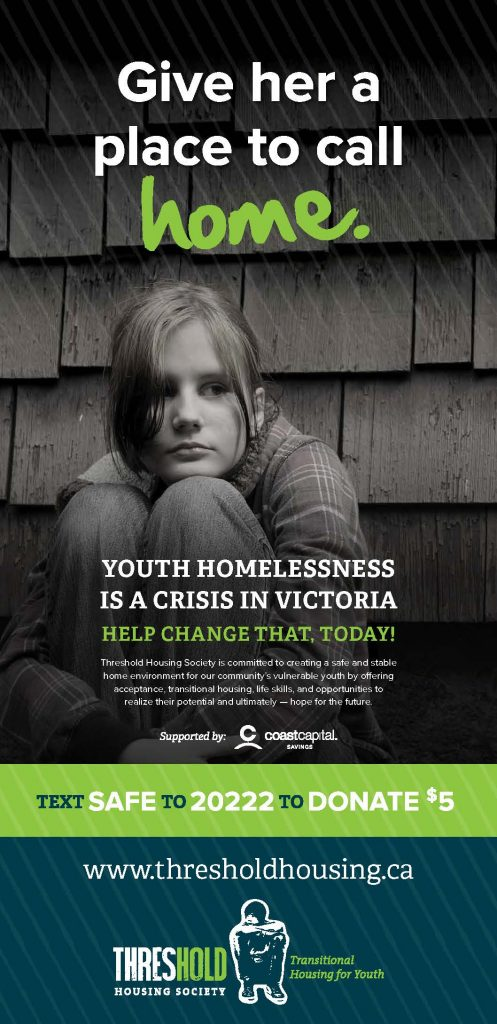 Text to Donate to end youth homelessness